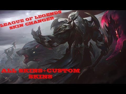LEAGUE OF LEGENDS SKIN CHANGER (All skins + custom skins)