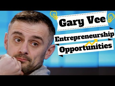 Gary Vaynerchuk The Entrepreneur Mindset. How to  Find Opportunity & Recognize Trends!