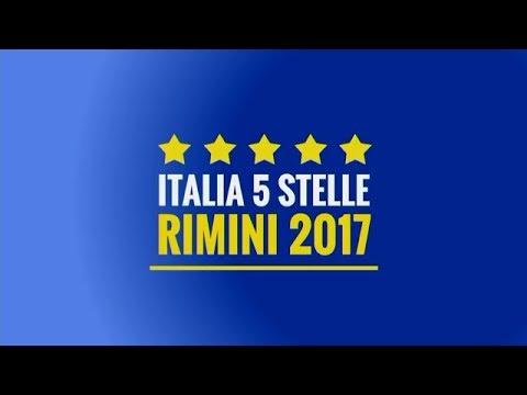 Italia 5 Stelle Rimini - I Portavoce del M5S dal palco - 22/9/2017