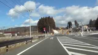 福島県道57号 02 郡山大越線 郡山→大越 車載