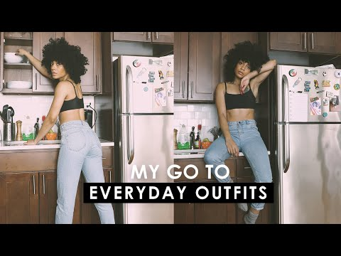 The Perfect UNDERWEAR + My Go-to Everyday Outfits! || LOOKBOOK