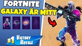 THE FIRST GAME WITH THE GALAXY SKINET IN FORTNITE