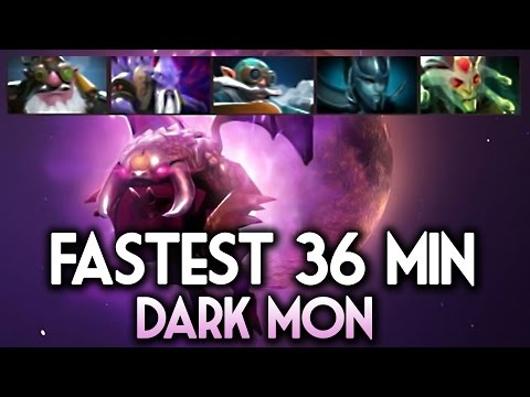 Dark Moon Fastest Kill World Record DOTA 2 - How to win Dark Moon