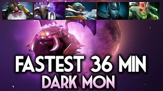 Dark Moon Fastest Kill World Record DOTA 2 - How to win Dark Moon