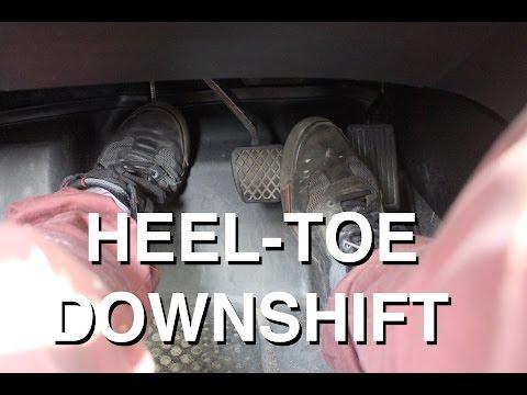 Heel Toe Downshift   Advanced Driving Technique
