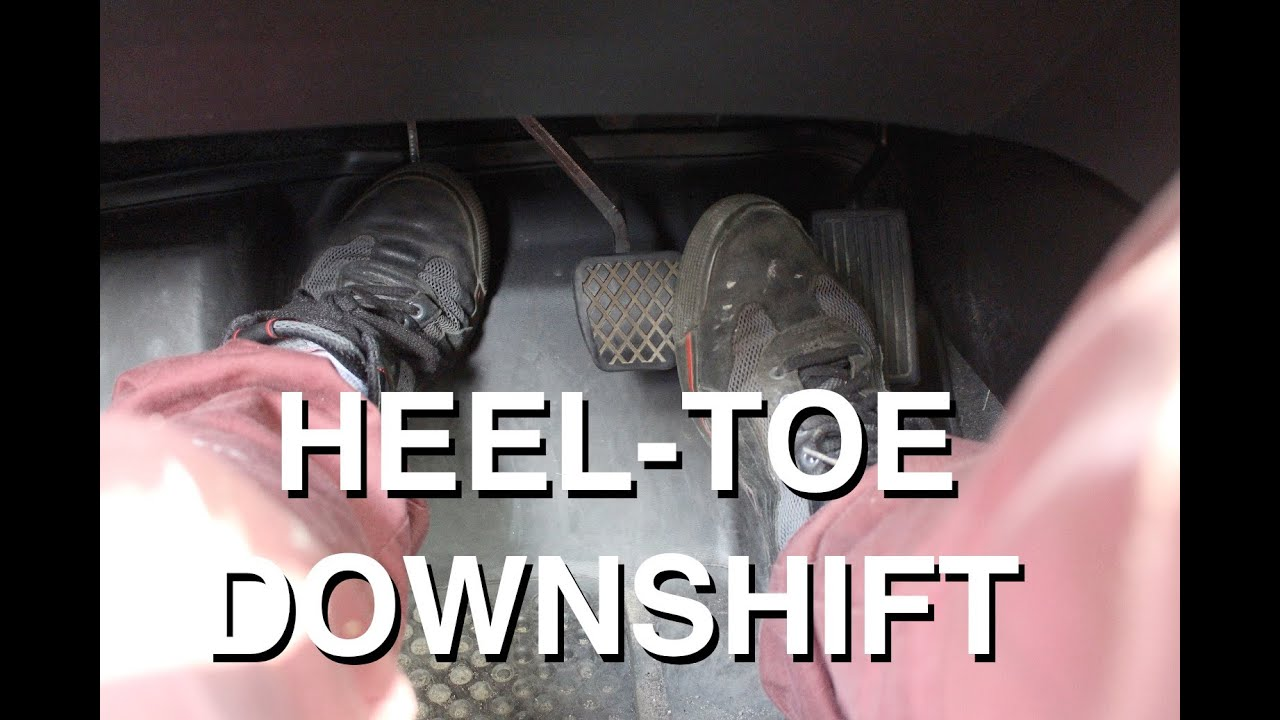 Heel Toe Downshift  Advanced Driving Technique  YouTube