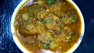 LAUKI KOFTA CURRY | easy and simple home- made recipe |
