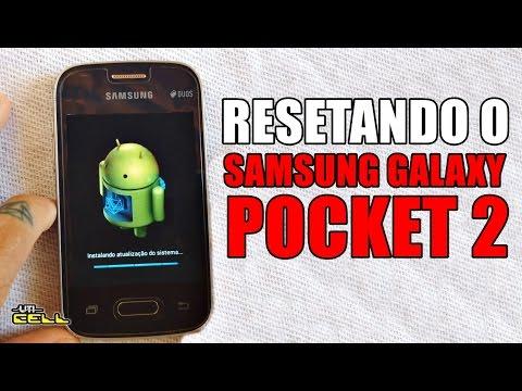 Formatando/Restaurando o Samsung Galaxy Pocket 2 (SM-G110) #UTICell