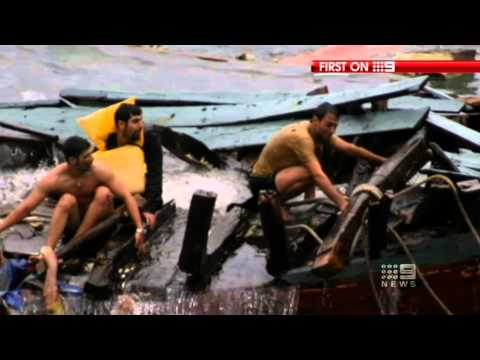 Christmas Island asylum seeker boat crash | December 15, 2010