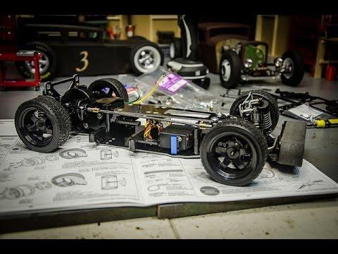 Tamiya TA02sw Build Series, Part 3, The Roller