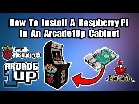Arcade1UP Raspberry Pi Install Tutorial - RetroPie in an Arcade1UP