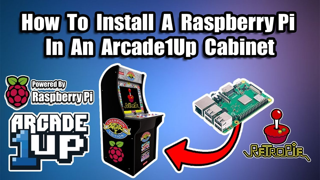 Arcade1up Cabinet Solderless Upgrade With A Side Of