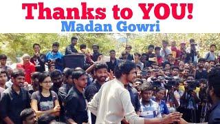 Thank you | 700k | Tamil | Madan Gowri | MG