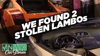 Download VINwiki found two stolen Lamborghinis! Mp3 and Videos