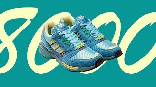 ADIDAS ZX 8000 AQUA REVIEW + ON FEET