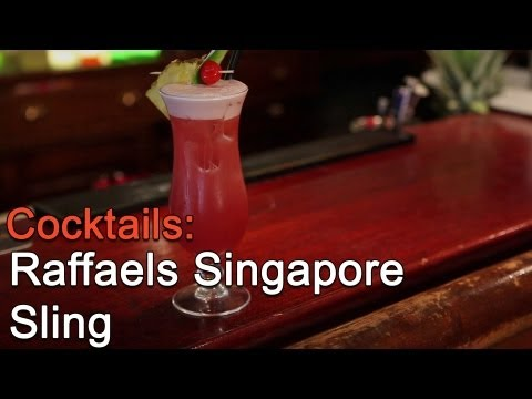 Raffaels Singapore Sling - mahlzeit.tv: Cocktails