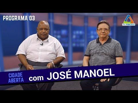 (04/07/18) Cidade Aberta com José Manoel Magalhães (HD)