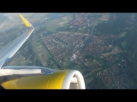 Vueling Airlines Airbus A320-232(WL) / Amsterdam to London Luton *FULL FLIGHT*