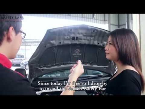 Perodua Myvi Installed Ultra Racing Front Strut & Rear Anti Roll Bar