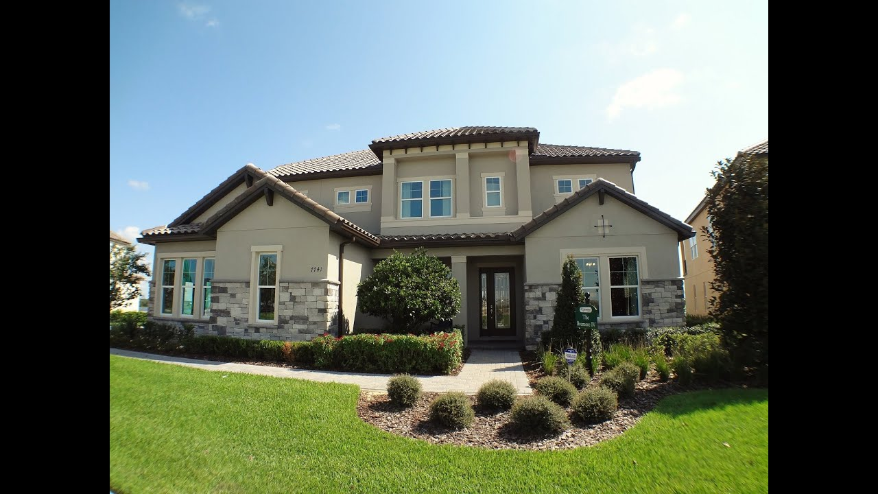 winter garden new homes summerlake by k hovnanian homes bremore iv model - Winter Garden New Homes