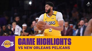 HIGHLIGHTS | Anthony Davis (46 pts, 13 reb, 3 stl) vs. New Orleans Pelicans