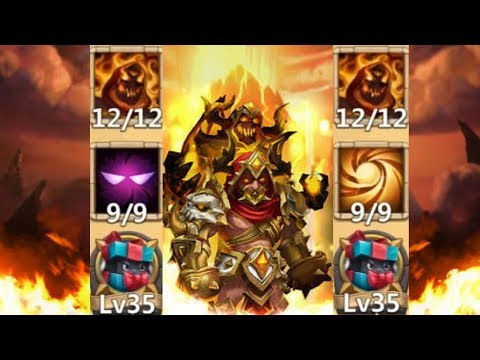 Grimfiend | 9/9 Unholy Pact | 9/9 Sacred Light | 12/12 | Gameplay | Castle Clash