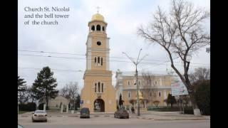 Stefan cel Mare Street from Balti, Republic of Moldova