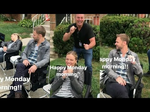 Jesse Lee Soffer  Instagram Story Videos  August 27 2017 Chicago P.D