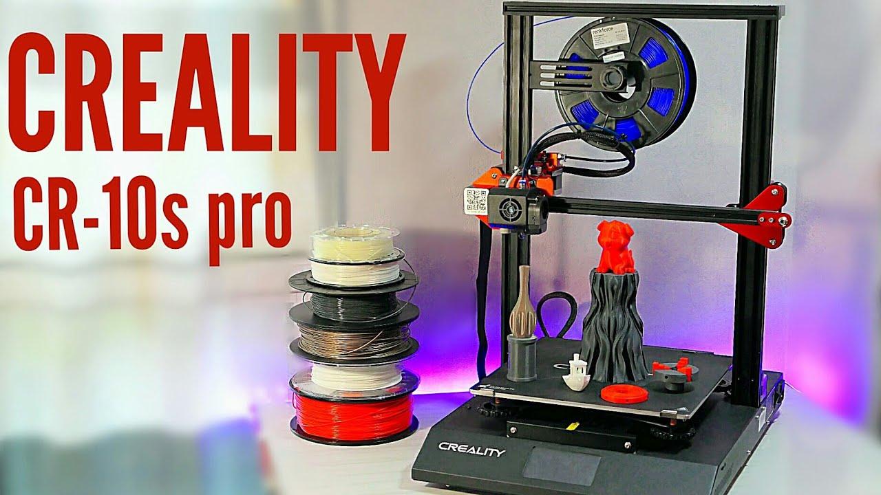 CREALITY CR-10S PRO !!! la rolls royce des imprimantes 3D !?