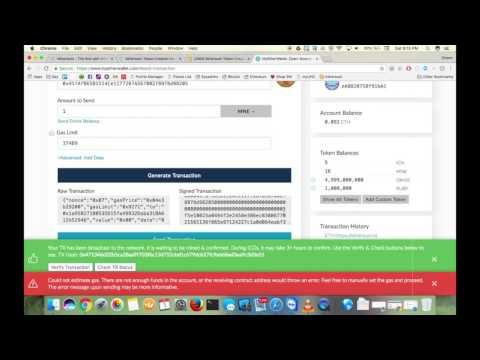 How To Create ERC20 Tokens Using Minereum - Tutorial