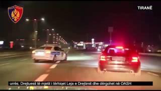 Policia Rrugore Tiranë, masa për parandalimin e shpejtësisë tej normave të lejuara