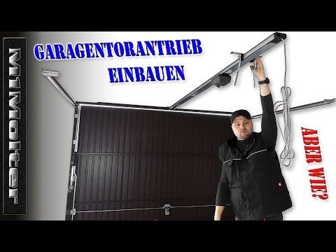 Bevorzugt Montage Torantrieb / Garagentoröffner / Sommer Garagentorantrieb FB61