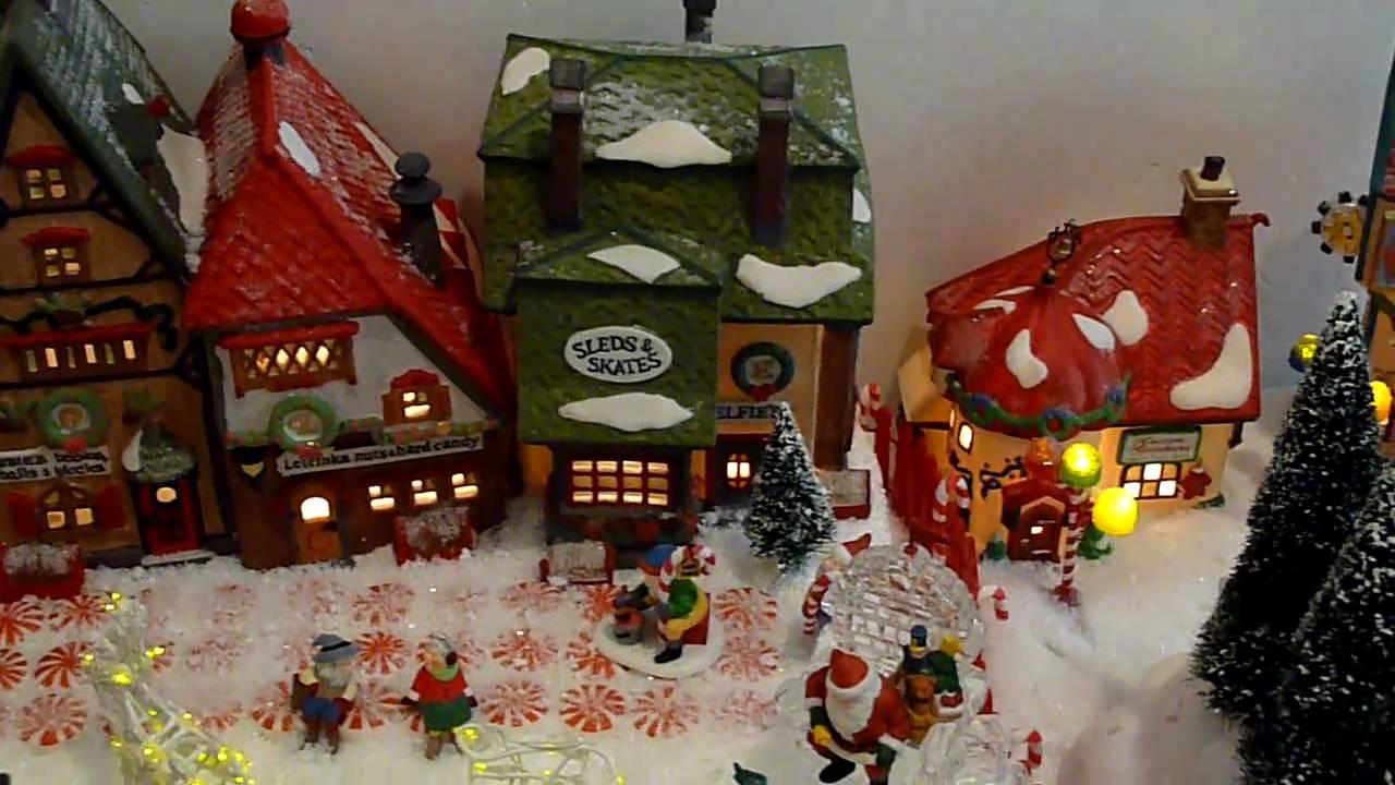 My Dept. 56 Santa and Northpole Village - YouTube