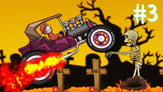 БЕЗУМНЫЕ ГОНКИ [3] Игровой мультик про машинки Гонки на машинах | Hill Climb Racing