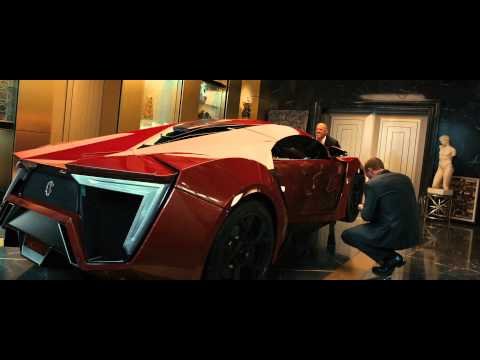 "Fast & Furious 7 - Featurette ""Lykan"" deutsch / german"