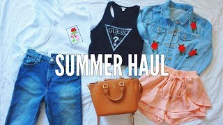 HUGE TRY ON SUMMER HAUL // Urban Outfitters, Brandy Melville, Romwe, Shein, & more