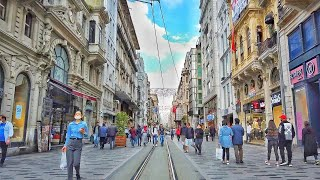 Istanbul Walk from Istiklal Street to Cihangir before the Reopening