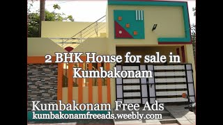 Brand New 2 BHK house in Kumbakonam for immediate sale for Rs. 50 lacs |  Best Design and economical