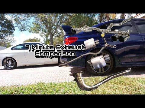 7 Minute WRX Exhaust Comparison- Alex Stavrinos