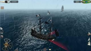 Защищаем порт Tortuga на Черной жемчужине.