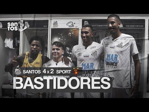 SANTOS 4 X 2 SPORT | BASTIDORES | BRASILEIRÃO (28/11/20)