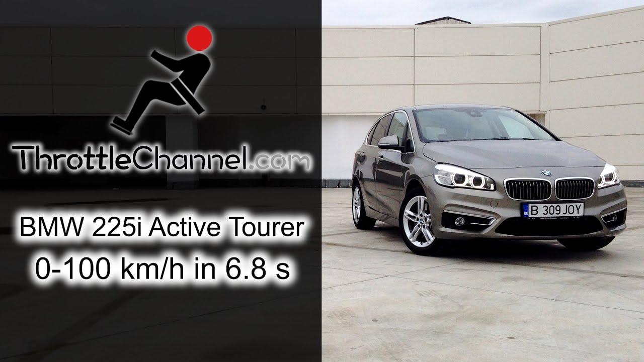 BMW I Active Tourer Acceleration ThrottleChannelcom YouTube - Bmw 225i