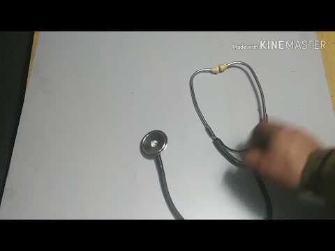 Как сделать своими руками фонендоскоп