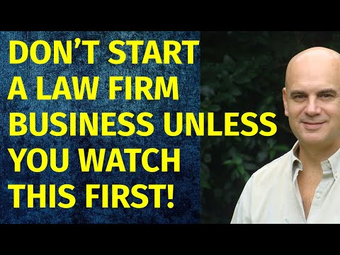 How to Start a Law Firm Business   Including Free Law Firm Business Plan Template