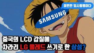 중국의 LCD 갑질에 LG 올레드로 TV 만드는 삼성?