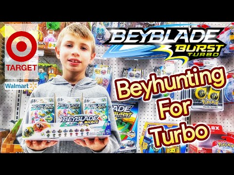 Beyblade Burst Toy Hunting At Target & Walmart For Hasbro Turbo SlingShock Beyblades - Beyhunting