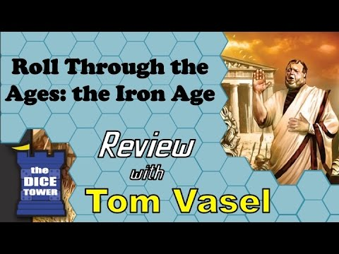Roll Through the Ages:the Iron Age Review - with Tom Vasel