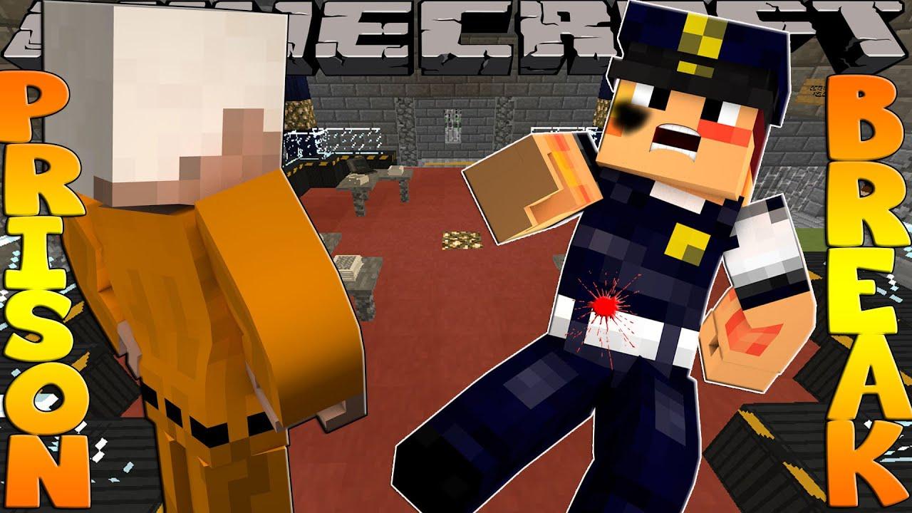 Minecraft PRISON BREAK - SCUBA STEVE GETS BEATEN UP!!!