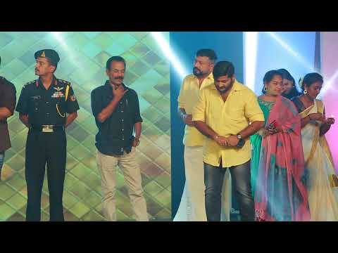 Major Ravi |Jayaram Unveiling The Artist Cine Productions Logo