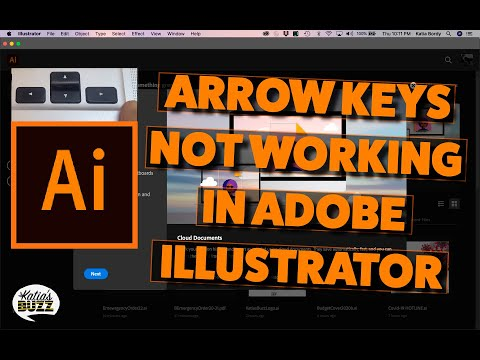 Can't move objects with arrow keys in Adobe Illustrator? Fix the illustrator increment settings